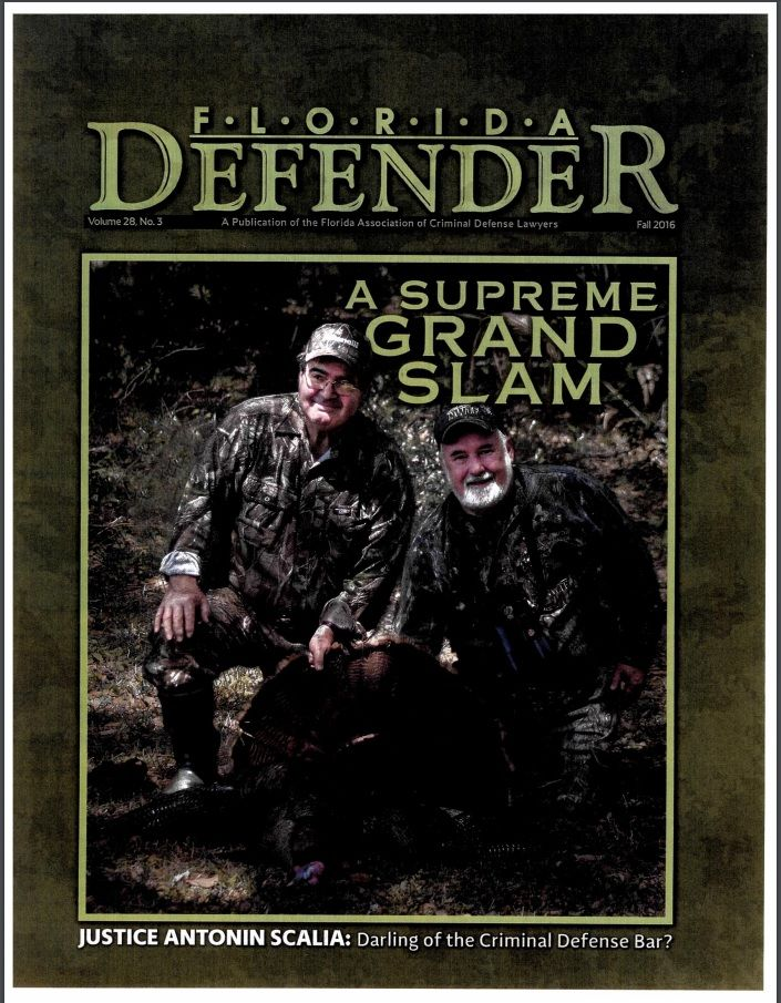 George and Peter Tragos Making a Murderer Article Featured in Florida Defender Magazine