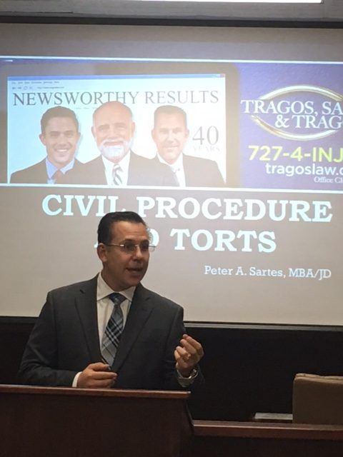Attorney Sartes Teaches Seminar at People's Law School
