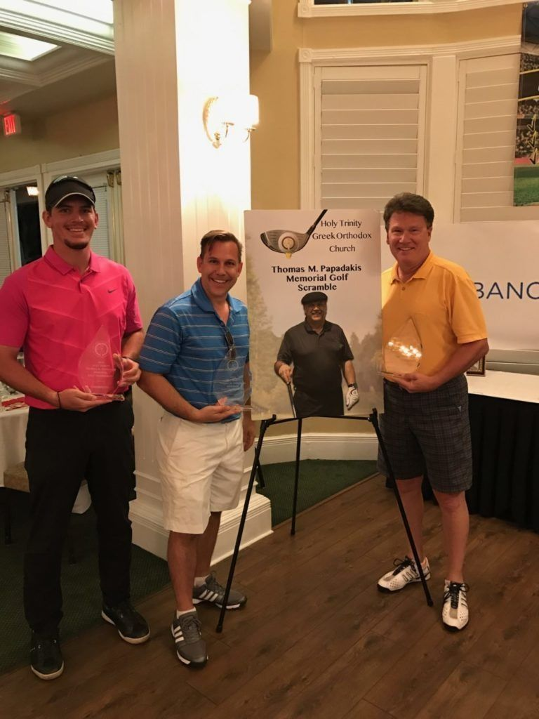 Tragos Law sponsered golf event in Clearwater