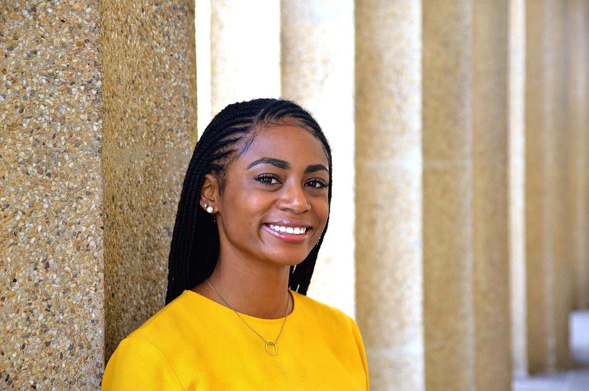 Tragos Law scholarship winner Taylor Avery